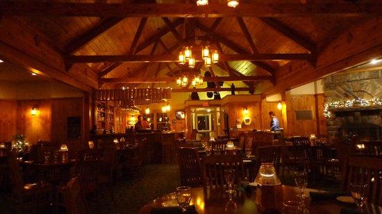 Lake Placid Club Boat House : Late Sunday night