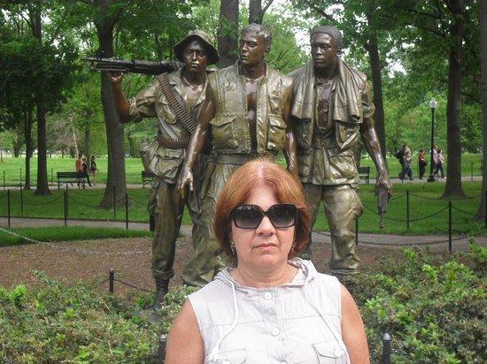 Vietnam Veterans Memorial: Monumento aos Veteranos do Vietnã