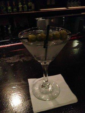 Havana Central Times Square : A 5 olive martini
