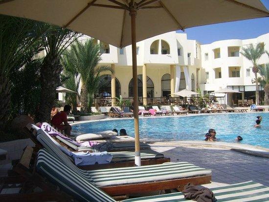 Green Palm : piscine
