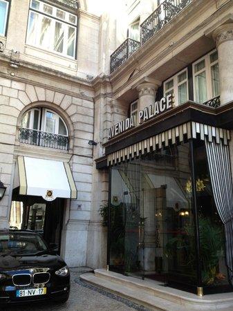 Hotel Avenida Palace : Entrada