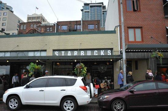 Starbucks 1st & Pike: The original Starbucks.