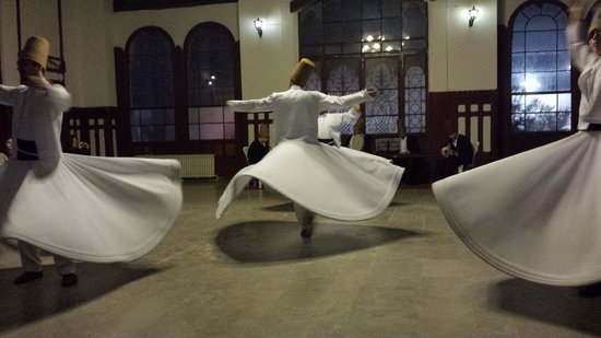 Helliantus Anatolia Tours: Whirling Dervishes in Istanbul, Turkey