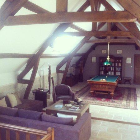 Moulin de Roilaye : Salon privé des chambres
