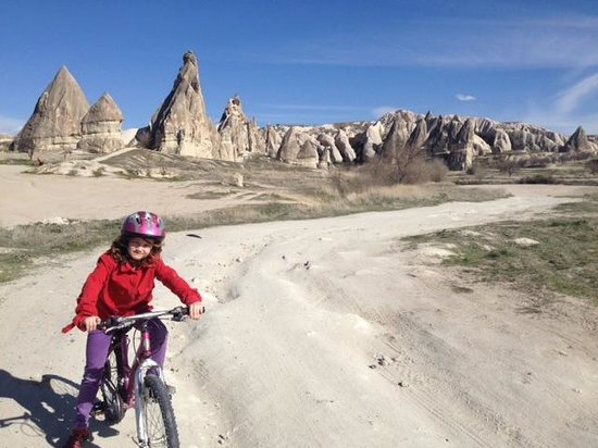 Kayakapi Premium Caves - Cappadocia: Kayra biking in the vicinity