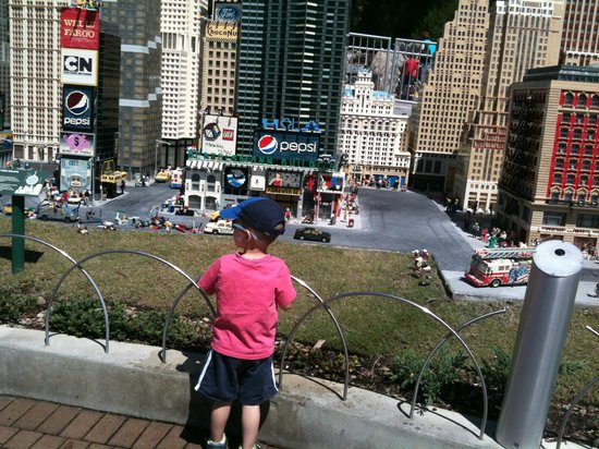 LEGOLAND Florida Resort: can spend hours  looking at the mini displays.