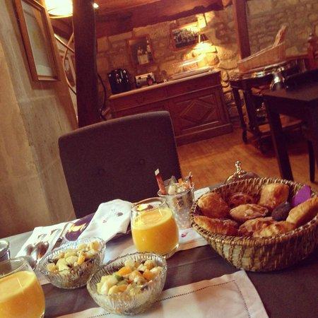 Moulin de Roilaye : Petite déjeuner