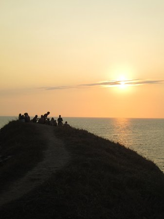 Casa Pan de Miel : Atardecer en Punta Cometa