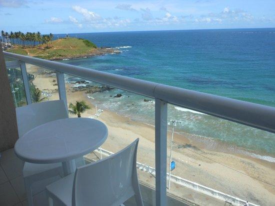 Monte Pascoal Praia Hotel Salvador: Vista do apto 703
