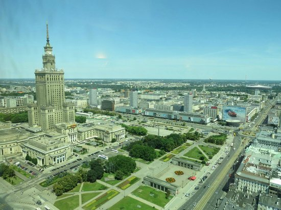 Warsaw Marriott Hotel: view from room