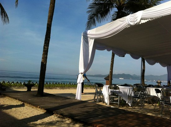 Rama Candidasa Resort & Spa : Near the restaurant