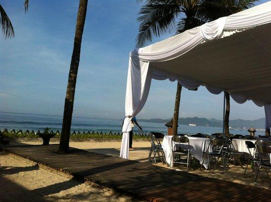 Rama Candidasa Resort & Spa: Near the restaurant