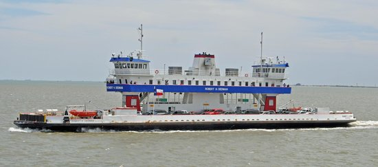 Galveston - Port Bolivar Ferry: 1 of the ferries