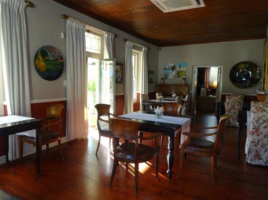 Residence Klein Oliphants Hoek: main dining room