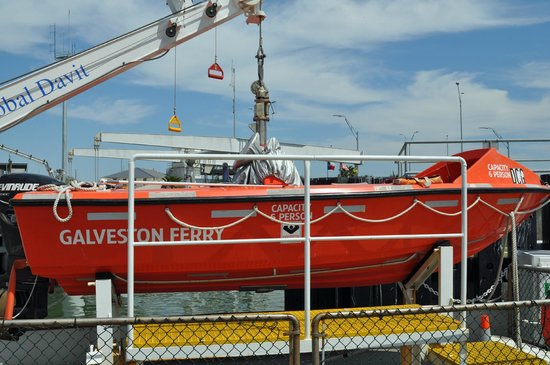 "Galveston - Port Bolivar Ferry: ""mini ferry"""