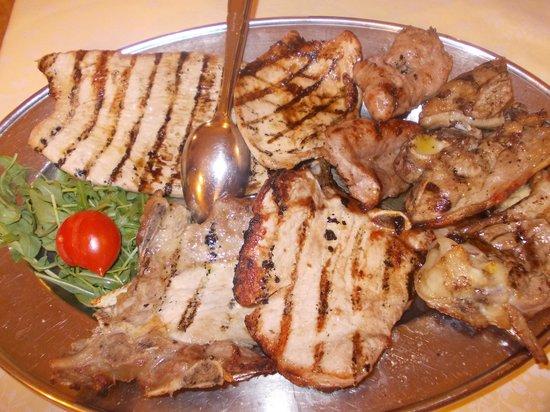 il vecchio mulino - grigliata di carne