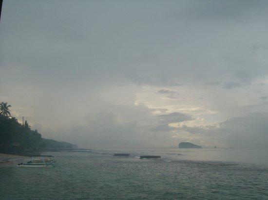 Rama Candidasa Resort & Spa: Evening view
