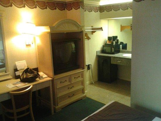 San Francisco Inn: Das Zimmer
