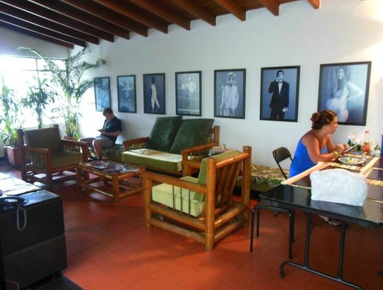 Saman Hostel Medellin: Common area