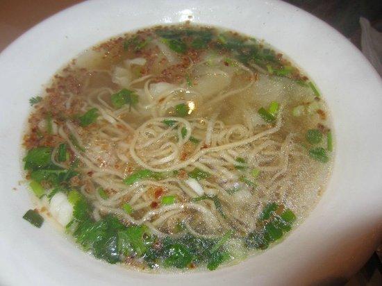 Delice House: soupe de nouilles et raviolis
