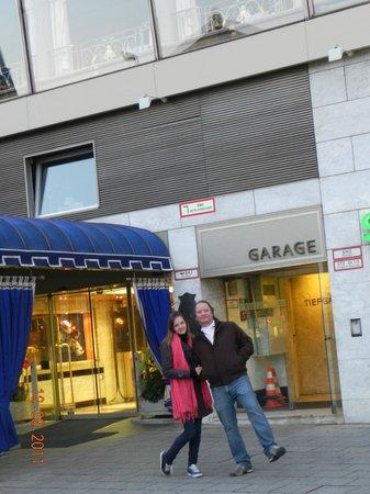 Hotel Koenigshof : Fachada