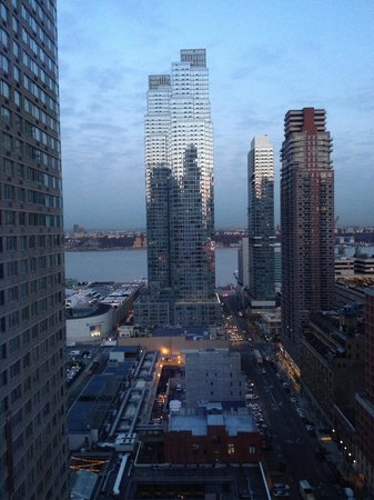 YOTEL New York at Times Square West : 26th floor view