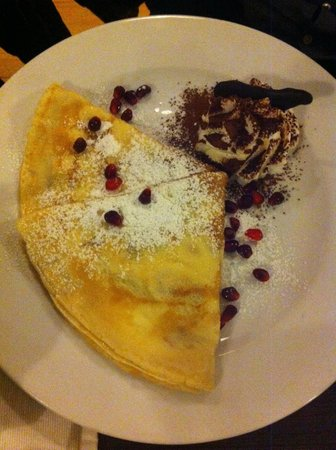 U Kroka : Pancake with cranberry