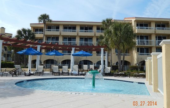 The King and Prince Beach and Golf Resort: Ocean View Building