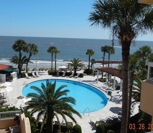 The King and Prince Beach and Golf Resort: View from Room 461