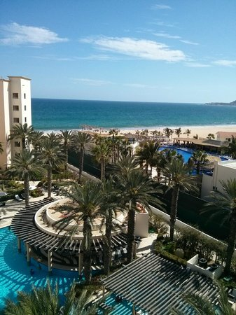 Hyatt Ziva Los Cabos: The view from 7th floor overlooking the adult pool