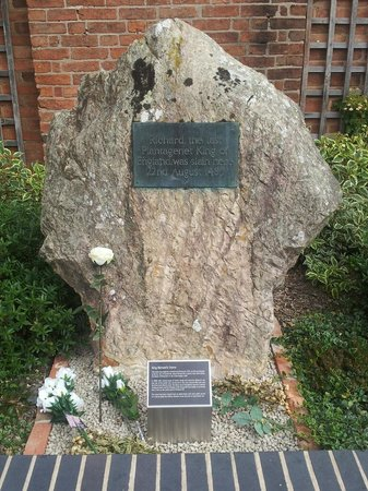 Bosworth Battlefield Heritage Centre and Country Park: Plaque for Richard III