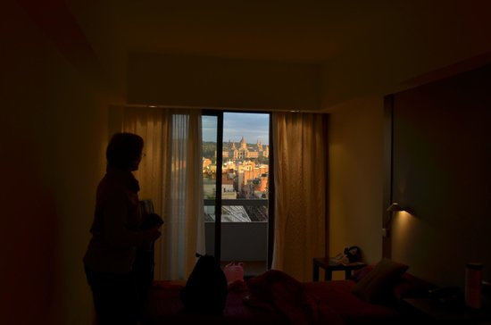 Expo Hotel Barcelona: View from the room