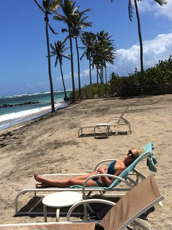 Nisbet Plantation Beach Club : private beach