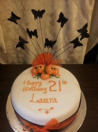 Magnificent Halloween Birthday Cake Picture Of Vanilla Artisan Bakery Funny Birthday Cards Online Barepcheapnameinfo