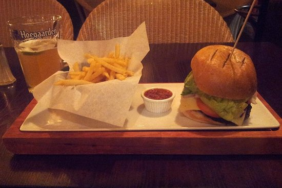 Cafe Rouge - Birmingham New Street: Cafe Rouge Burger