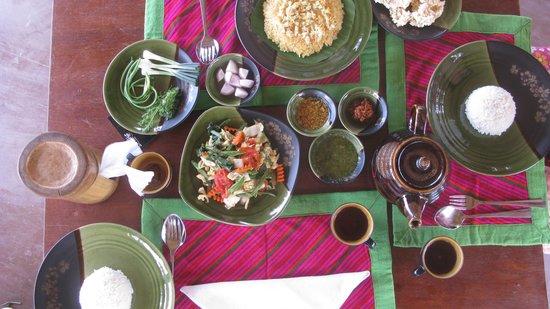 Bamboo Hut : Les plats fraichement servis