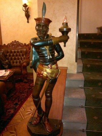 Hotel U Prince: Hotel decoration