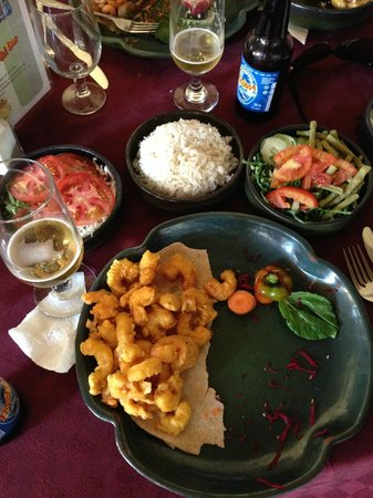 Restaurante El Patio: Muy rica comida