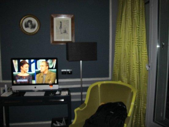 Hotel & Spa La Belle Juliette : Mac TV