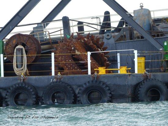 Ocean Force Adventures : drill bit for harbor dredging