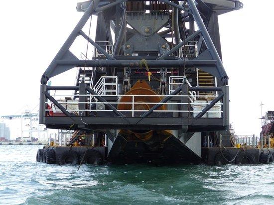 Ocean Force Adventures : dredging machine