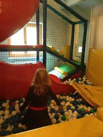 Apart- und Kinderhotel Muchetta: sala giochi