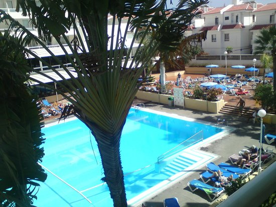 Catalonia Oro Negro: view from room 308 balcony