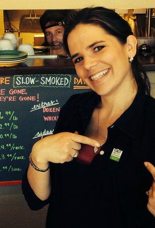 Hog Wild BBQ: Trip Advisor Customer Excellence reward pin