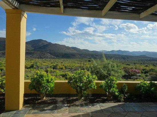 Sanbona Wildlife Reserve - Tilney Manor, Dwyka Tented Lodge, Gondwana Lodge: view from room
