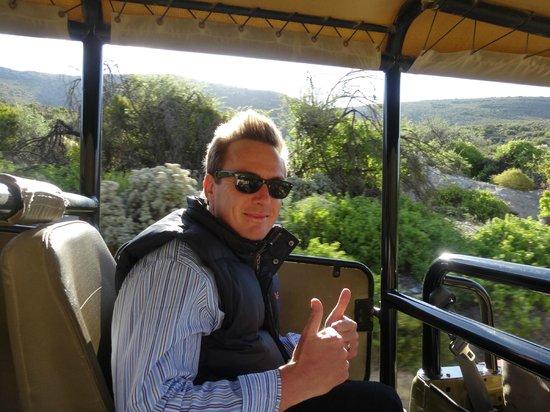 Sanbona Wildlife Reserve - Tilney Manor, Dwyka Tented Lodge, Gondwana Lodge: on safari