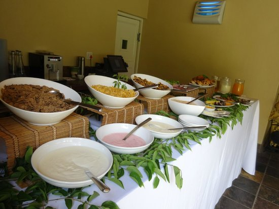 Sanbona Wildlife Reserve: breakfast