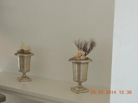 Hotel Herrnschlösschen: room touches