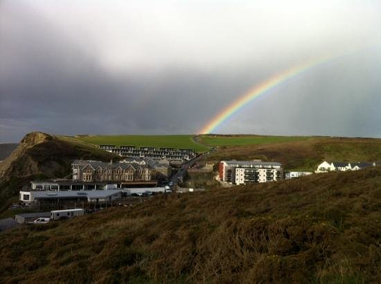 Watergate Bay Hotel: gold at the end of the rainbow.