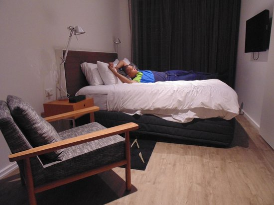 Ovolo Laneways: Very comfortable bed